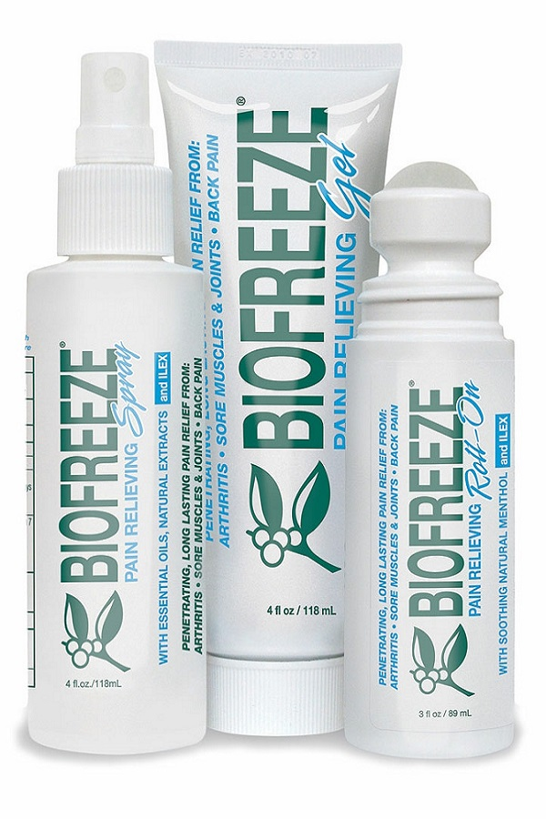 Biofreeze gel, spray and roll-on - Core Kneads Therapeutics & Wellness in Truro, NS